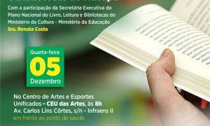 ABERTAS INSCRIÇÕES PARA ENCONTRO DE ELABORAÇÃO DO PLANO DO LIVRO, LEITURA, LITERATURA E BIBLIOTECAS DE MACAPÁ